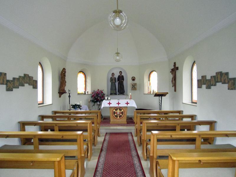 Kapelle Innenansicht